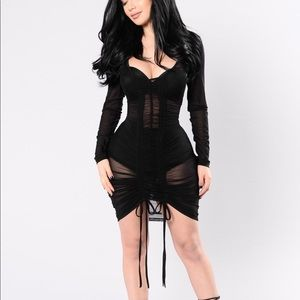 Video Girl Mesh Dress
